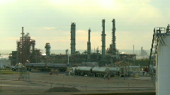 Oil Depot 7  Stock Footage