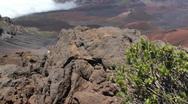 Volcano national park, Hawaii, maui Stock Footage