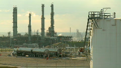 Oil Depot 8  Stock Footage