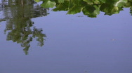 Db water reflection Stock Footage