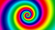Rainbow Vertigo Background HD1080 Loopable Stock Footage