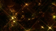 Christmas Mantel, star filter, Joy, pan down, 1 Stock Footage