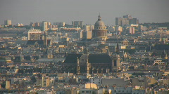 Stock Video Footage of Paris from Montmartre