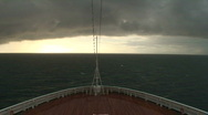 Stock Video Footage of Cruise Ship: Ocean Storm