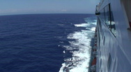 Stock Video Footage of Cruise Ship: Starboard Side