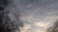 Stock Video Footage of Timelapse of clouds behind Egyptian obelisk in Central Park