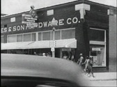 Stock Video Footage of 40s hardware store