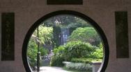 China Hong Kong Sha Tin park in New Territories Stock Footage