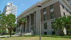Courthouse 3 Quarter Stock Footage