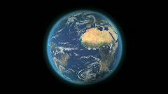 Earth Loop HD Stock Footage