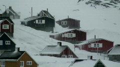 Tasiilaq village East Greenland Stock Footage