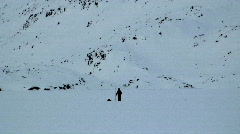 Seal Hunter Tasiilaq Greenland Stock Footage