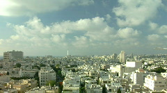 Stock Video Footage of Tel Aviv panorama timelapse 1