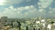 Tel Aviv panorama timelapse 1 Stock Footage