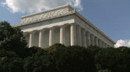 Stock Video Footage of Lincoln Memorial - Washington, DC