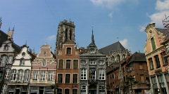 Europe Belgium Mechelen Grote Markt, Main square Stock Footage