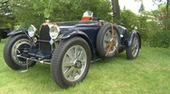 Stock Video Footage of automobile, Bugatti Type 35, very rare!
