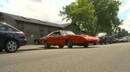 Dodge daytona charger, rare car Stock Footage