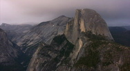 Stock Video Footage of Yosemite : Glacier Point - Half Dome 2 LS Loop