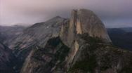 Yosemite : Glacier Point - Half Dome 4 LS Loop Stock Footage