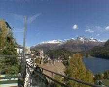 St. Moritz Panorama 1 - stock footage