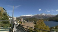 Stock Video Footage of St. Moritz Panorama 1