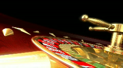 Roulette - stock footage