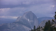 Stock Video Footage of Yosemite : Olmstead Point 1 Zoom Out