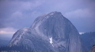 Stock Video Footage of Yosemite : Olmstead Point 4 Half Dome CU Loop