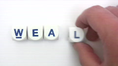 Wealth Dice Stock Footage