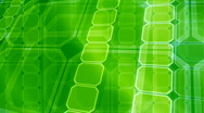 Stock Video Footage of Green Geometric background (loop)