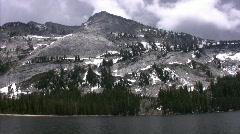 Yosemite : Tenaya Lake 1 Loop - stock footage