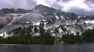 Stock Video Footage of Yosemite : Tenaya Lake 1 Loop