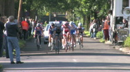 Stock Video Footage of Local cycling event