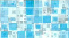 Geometric Squares background (loop) Stock Footage