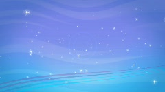 Background Wave Sparkles Stock Footage