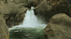 Stock Video Footage of kc_roaring_river_falls01