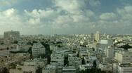 Tel Aviv panorama fix 2 Stock Footage