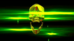 Skull4lhd Stock Footage
