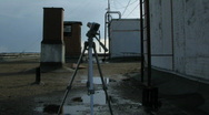 Camera on rhe roof Stock Footage