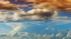 Dramatic clouds 2 - stock footage