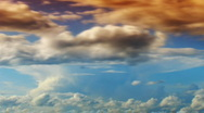 Dramatic clouds 2 Stock Footage