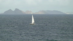Catamaran Sailing  Stock Footage