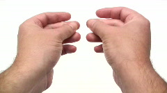 Finger Snapping Stock Footage
