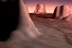 SD mars land 2 Stock Footage