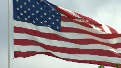 American Flag HD 01 Stock Footage