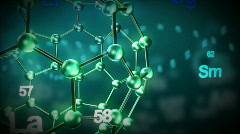 3d Science Animation Stock Footage