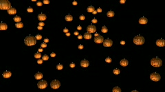 Halloween Pumpkins Stock Footage