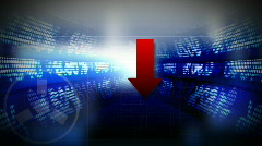 Stock market mash-up Stock Footage