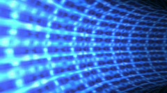 Abstract 3d Tunnel Stock Footage